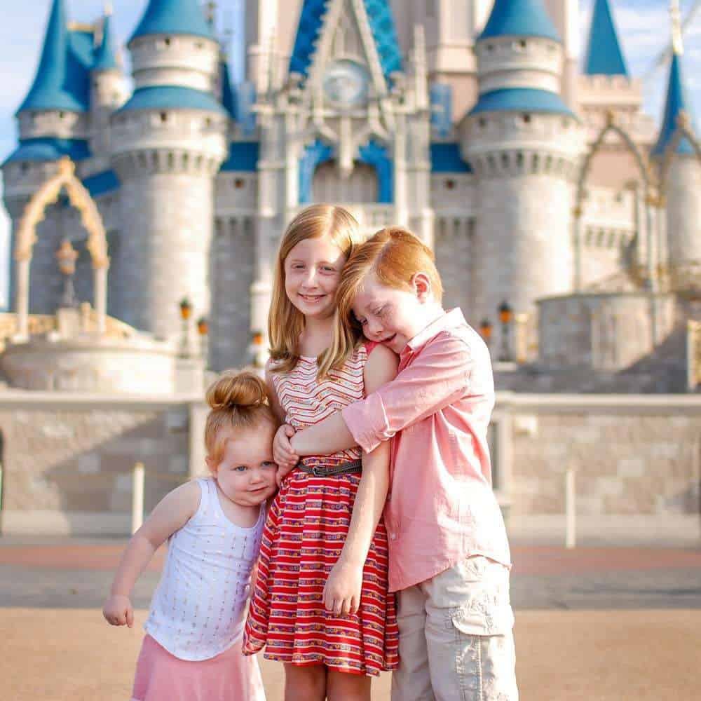 Cinderella Castle with the Kids