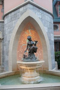 Cinderella Fountain at Magic Kingdom