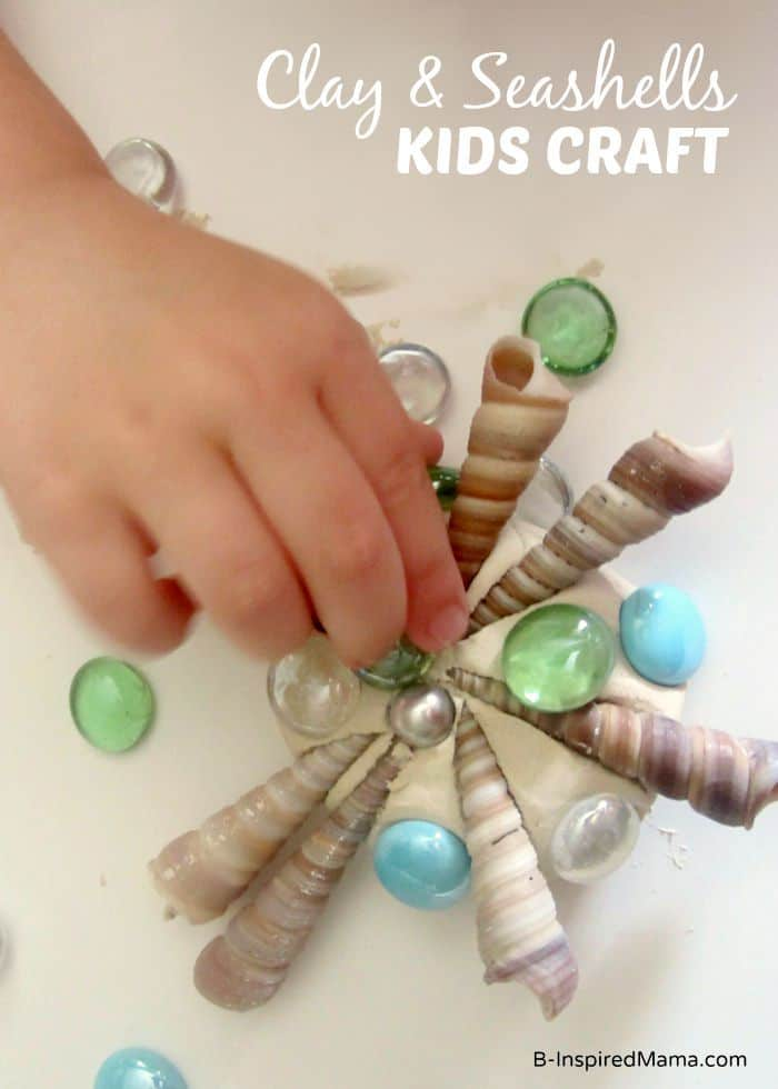 Clay Seashell Craft