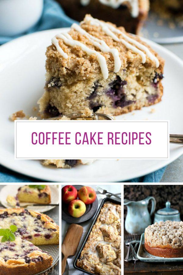 These coffee cake recipes are delicious! Thanks for sharing!