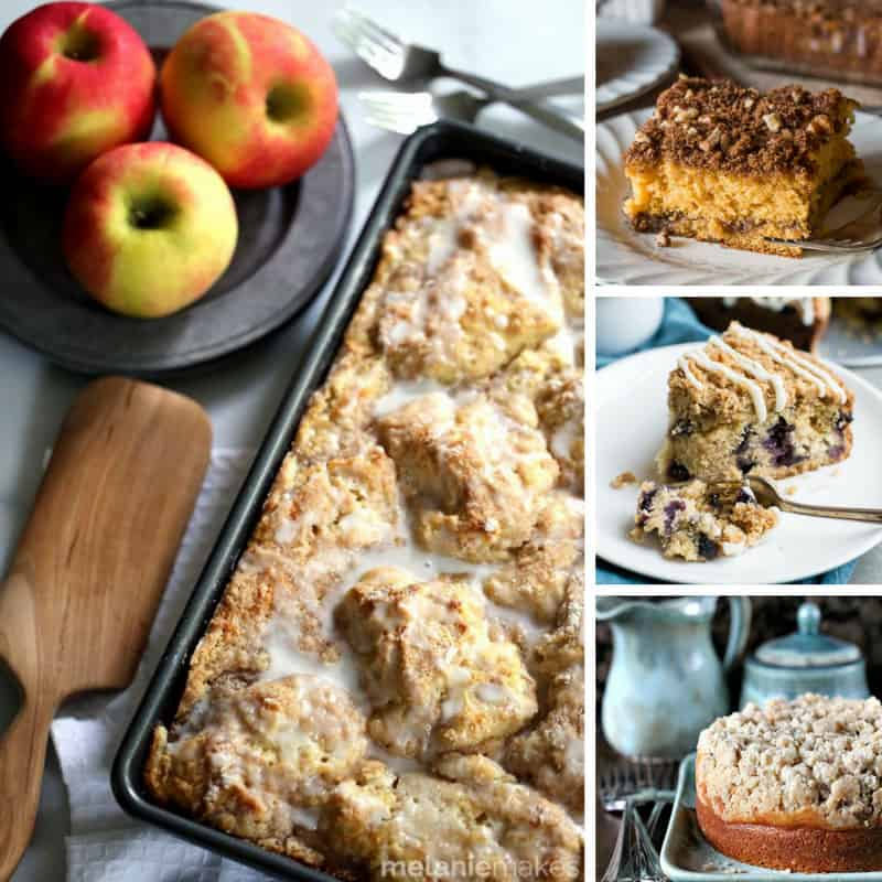 I'm drooling just thinking about these coffee cake recipes!