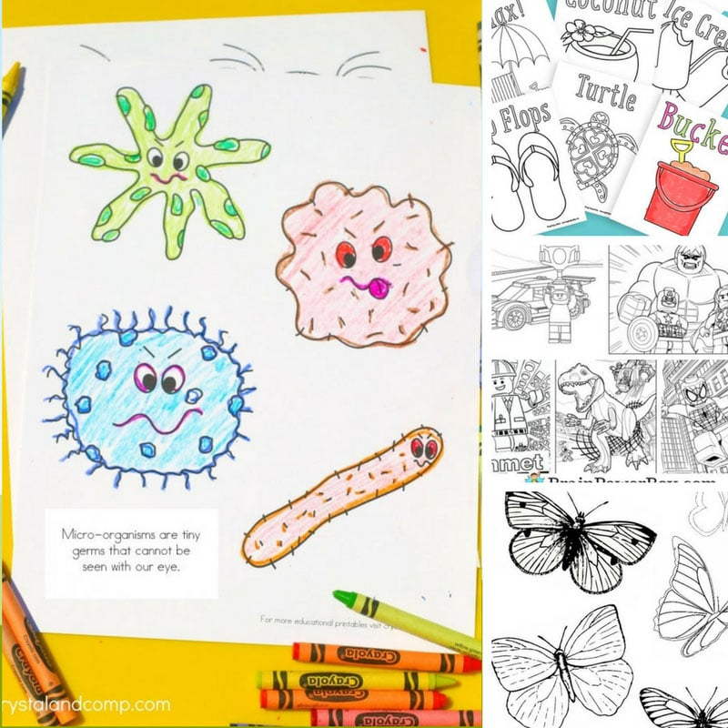 Coloring Pages for Kids to Color