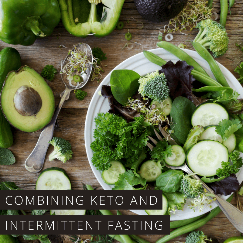 Keto and Intermittent Fasting are very popular healthy eating lifestyle s- but what happens if you combine the two?