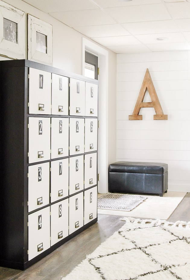 IKEA Hack: How to Turn a Bookcase into Lockers