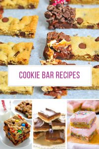 Loving these cookie bar recipes! Thanks for sharing!
