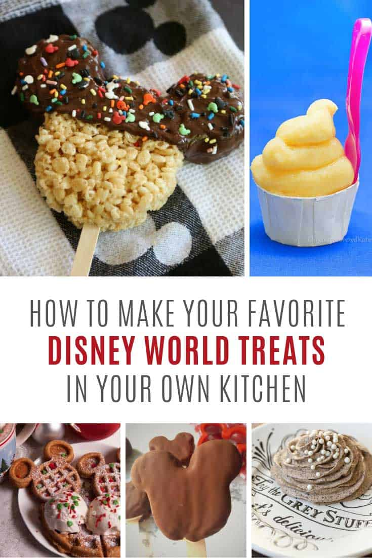 Yum! Love these copycat Disney World recipes to remind me of my vacation!