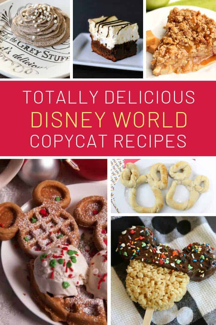 Yum! So many copycat Disney World treat recipes to enjoy at home!