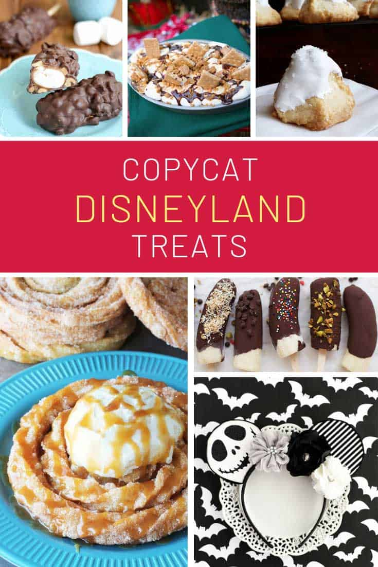 Yummy copycat Disneyland treats to make at home!