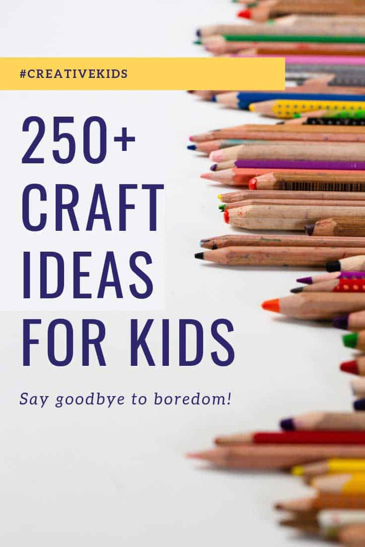 Loving these craft ideas for kids of all ages!