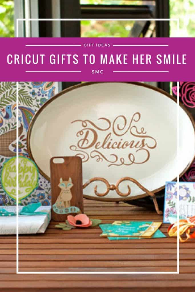 If you're shopping for a crafty gal who LOVES Cricut she will LOVE these gift ideas!