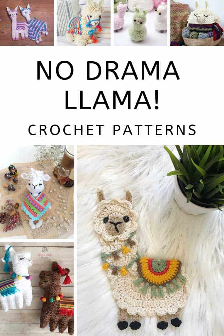 So many fabulous crochet llama projects in this list!