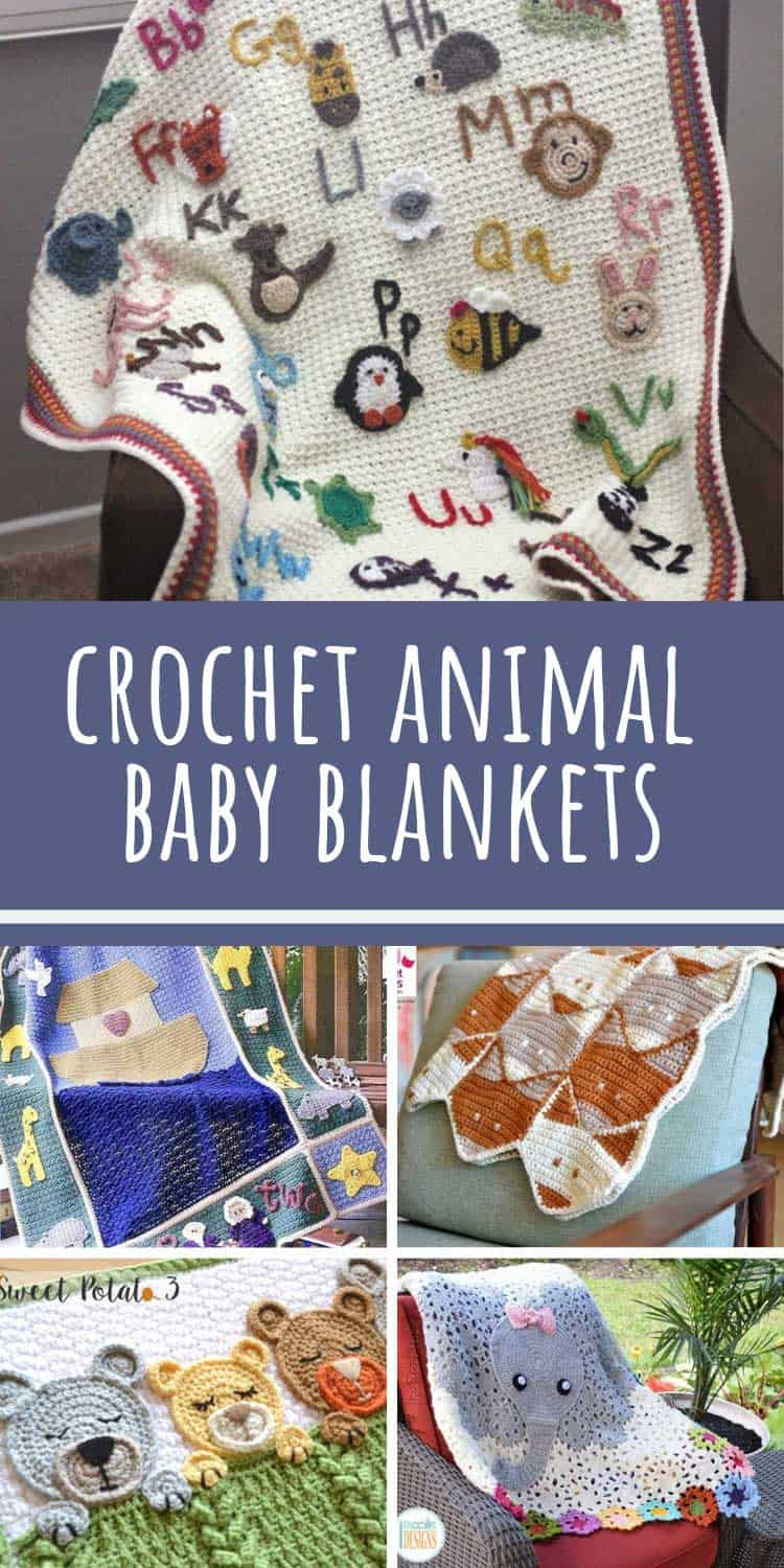 Loving these crochet animal baby blankets - fabulous baby shower gift ideas!