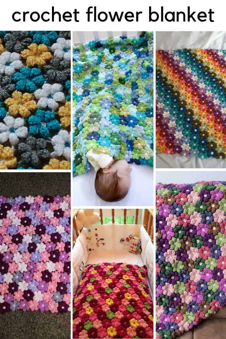 Crochet Flower Baby Blanket {Everyone's loving this pattern!}