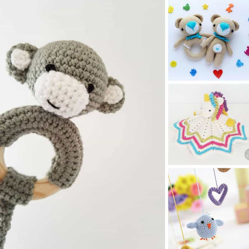 60 Crochet Baby Toys That Make Wonderful Baby Shower Gifts Beauteous Crochet Baby Doll Pattern