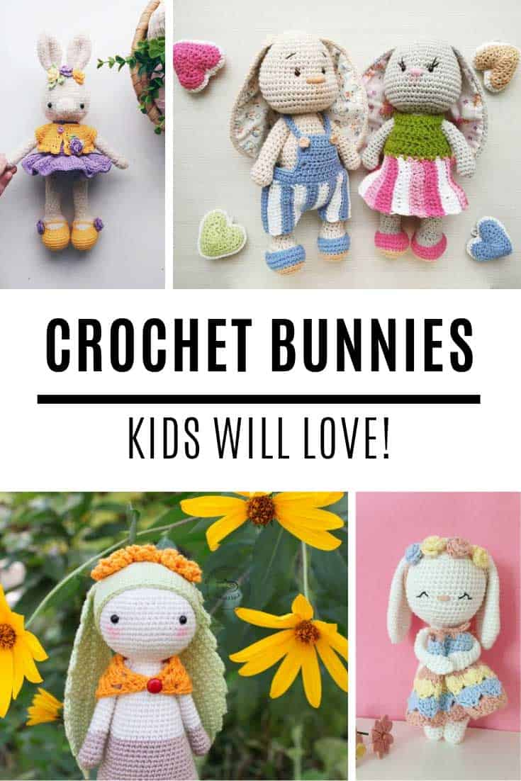 I went looking for a crochet bunny pattern and found a whole bunch of them!