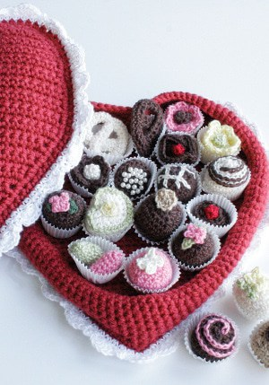 Valentine Chocolates Crochet Pattern