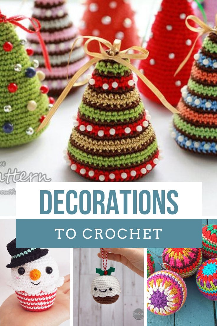 Crochet Christmas Decoration Patterns Easy Free