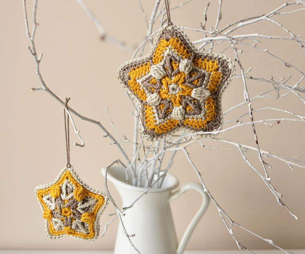Crochet Christmas Star Pattern