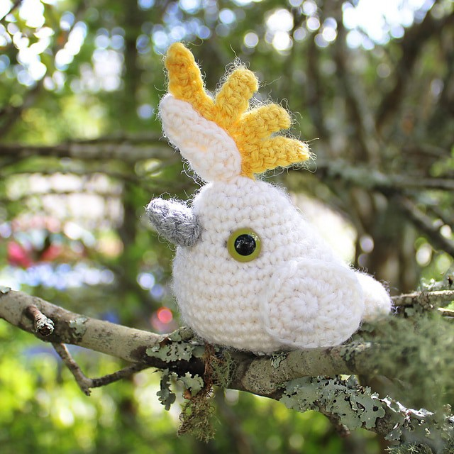 Crochet Cockatoo
