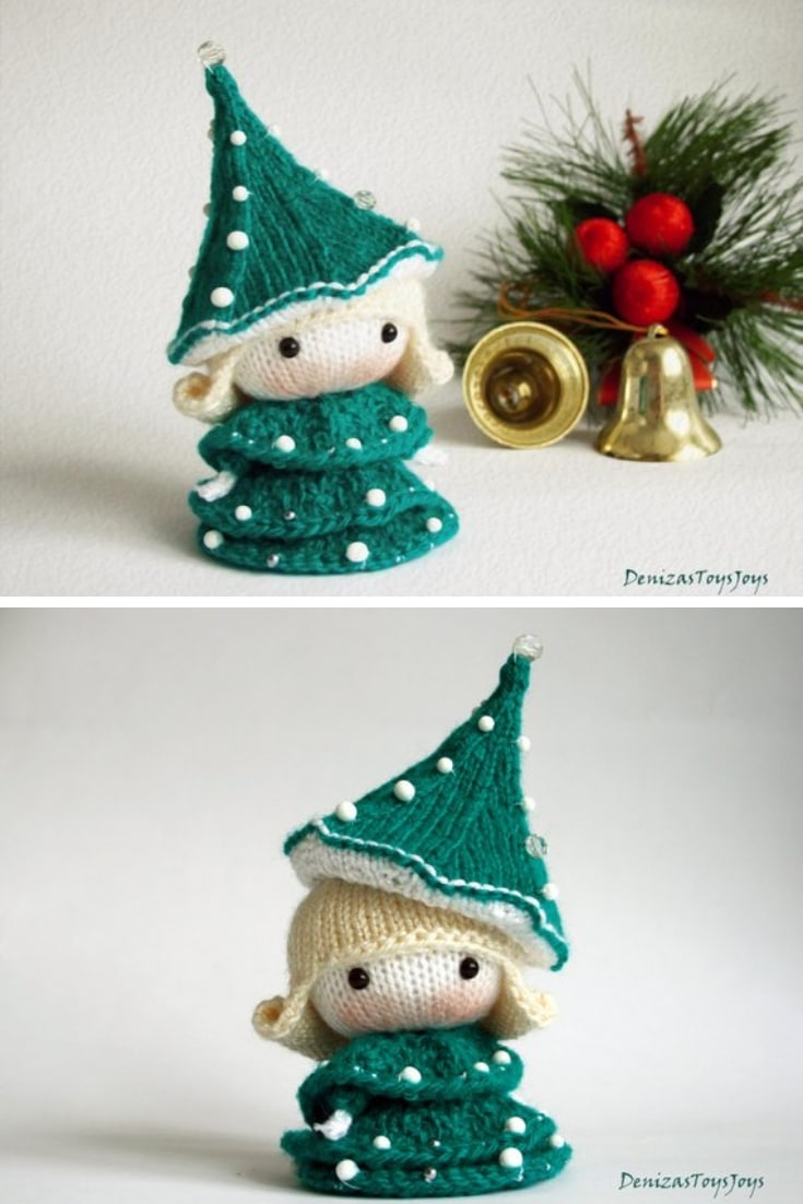 Crochet Doll Christmas Tree Pattern