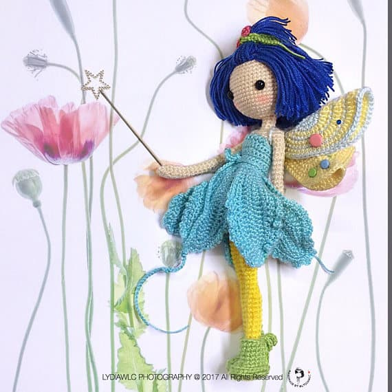 Crochet Fairy Doll Pattern