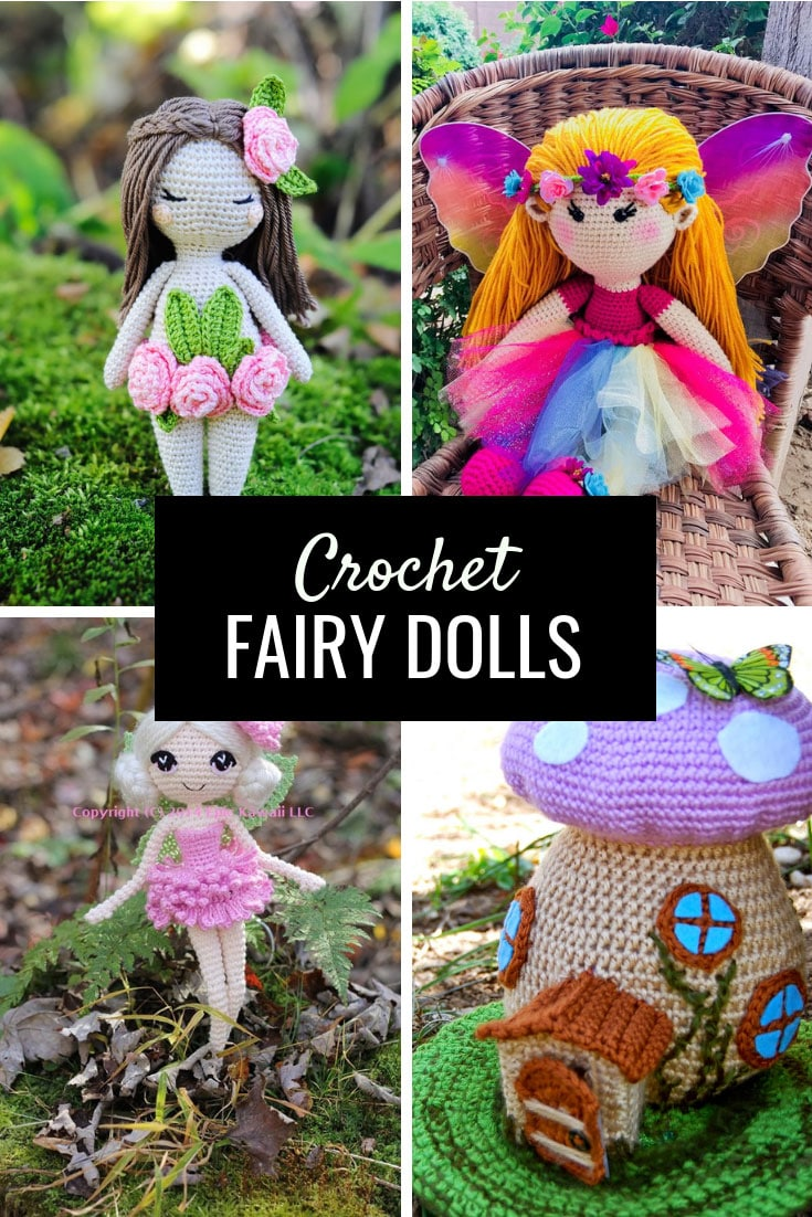 Crochet Fairy Doll Patterns