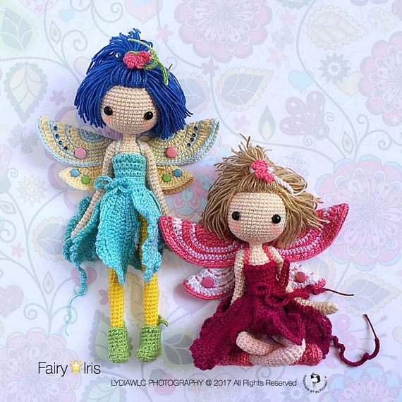 Crochet Fairy Dolls