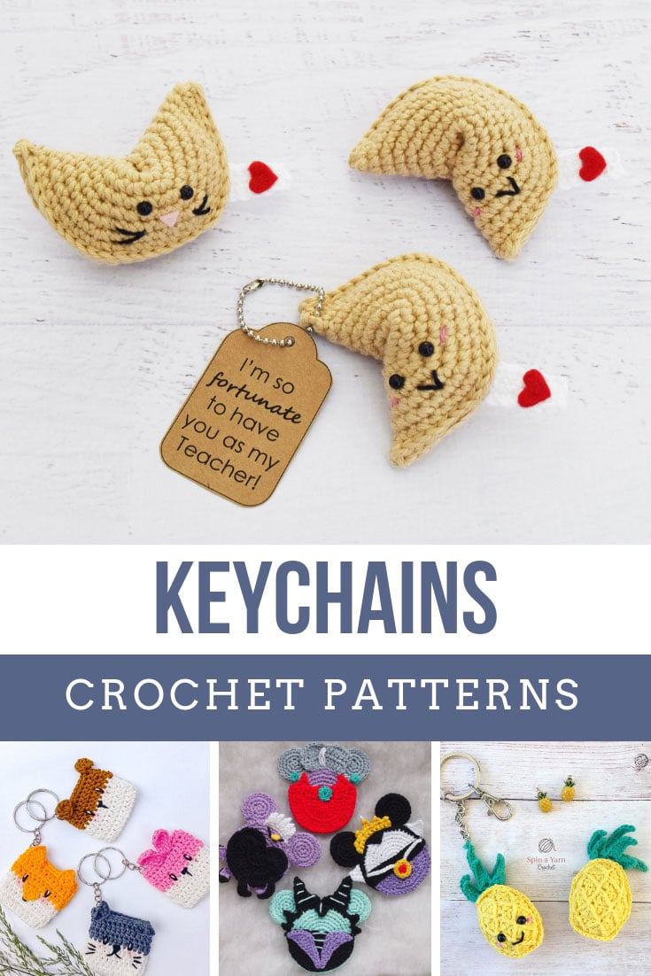Fabulous crochet keychain designs that make wonderful handmade gifts