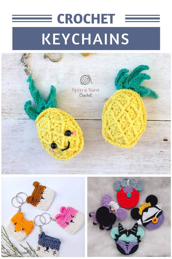 These crochet keychain ideas are ADORABLE and make fabulous handmade gifts!