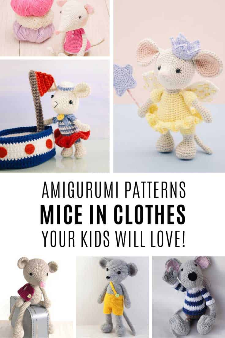 The Sweetest Amigurumi Mouse Doll Patterns You Need to See