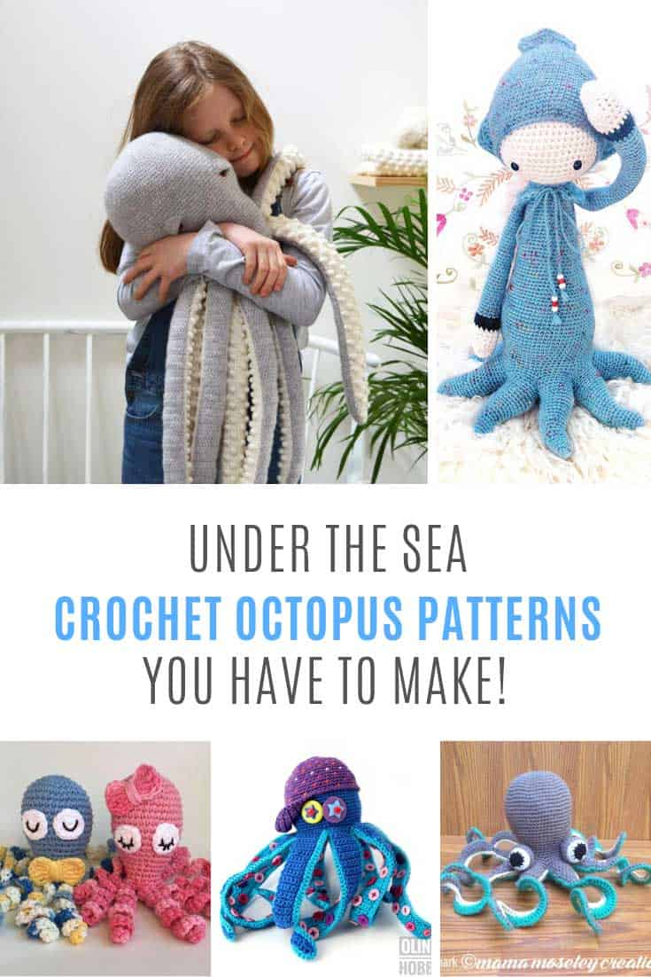 Loving these crochet octopus patterns!