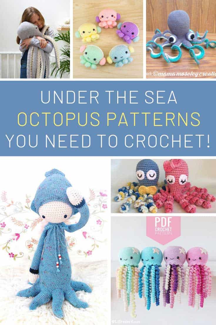 Oh these crochet octopus projects need to be on our list!