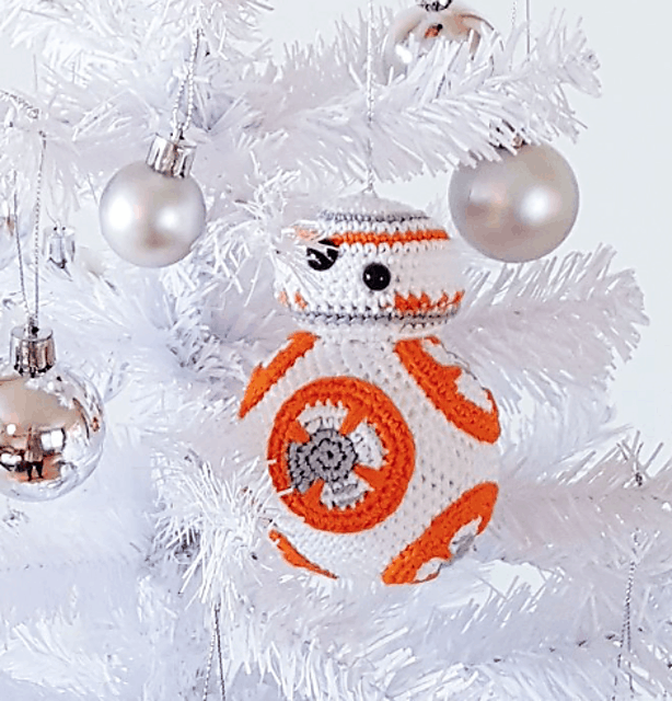 Crochet Ornament BB-8