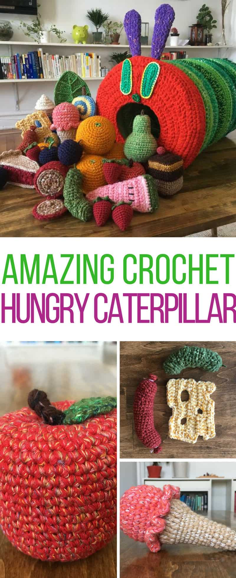 This Crochet Hungry Caterpillar Will Totally Blow Your Mind
