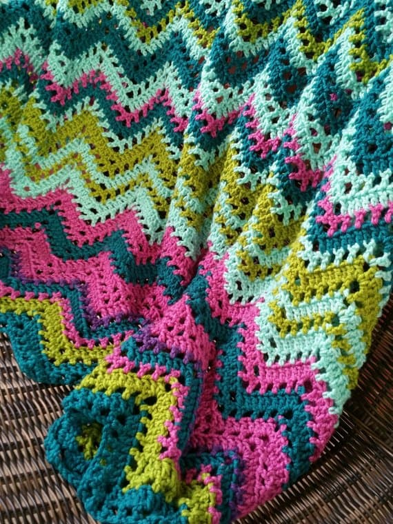 Crochet Pattern Temperature Chevron