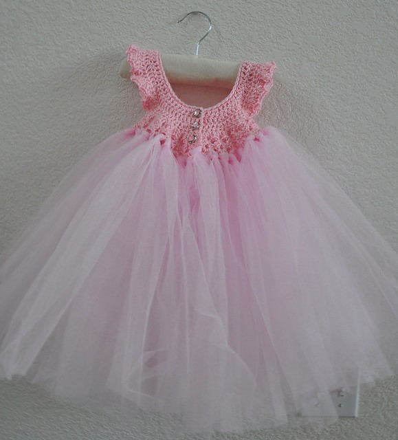 Crochet Princess Dress