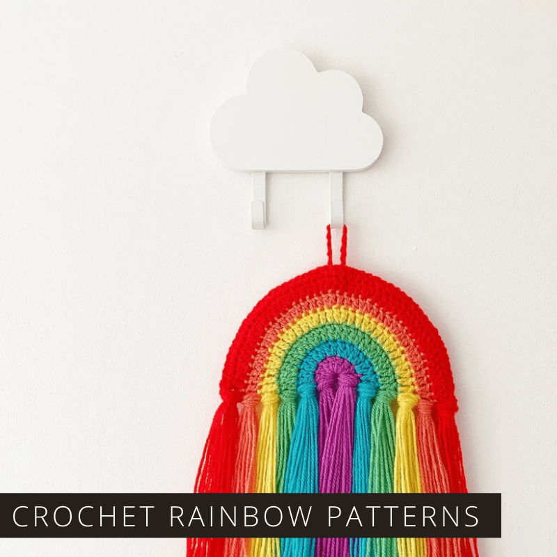 These Rainbow Crochet Patterns are Sure to Brighten Your Day