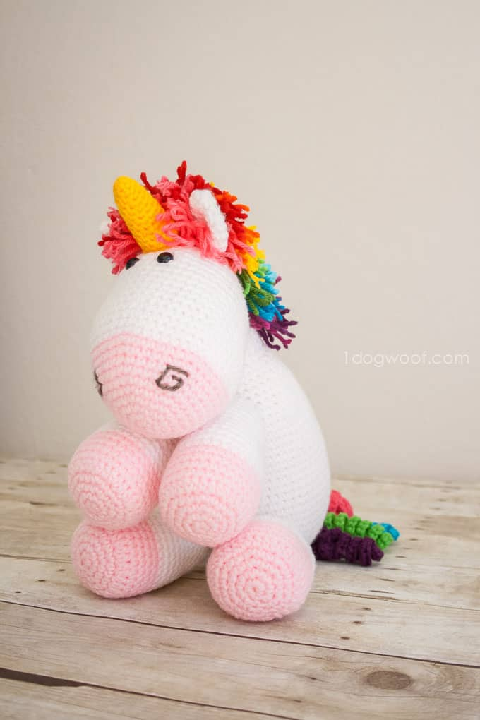 Crochet Rainbow Unicorn