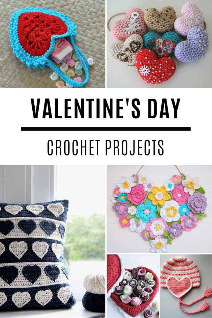 So many fabulous crochet Valentine ideas and projects!