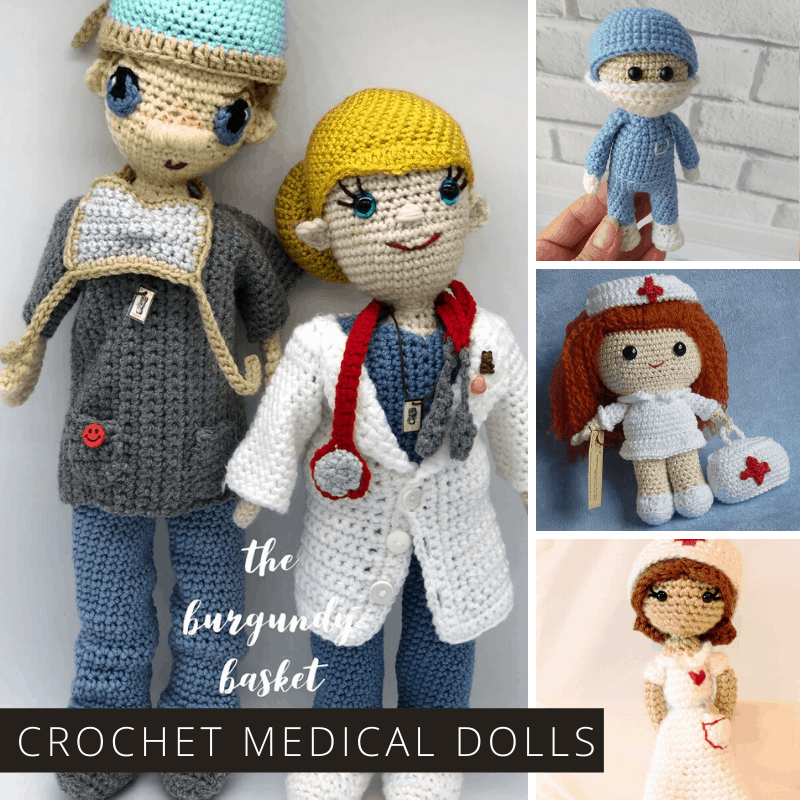 Crochet – Doc in Scrubs Amigurumi | All Fiber Arts | 800x800