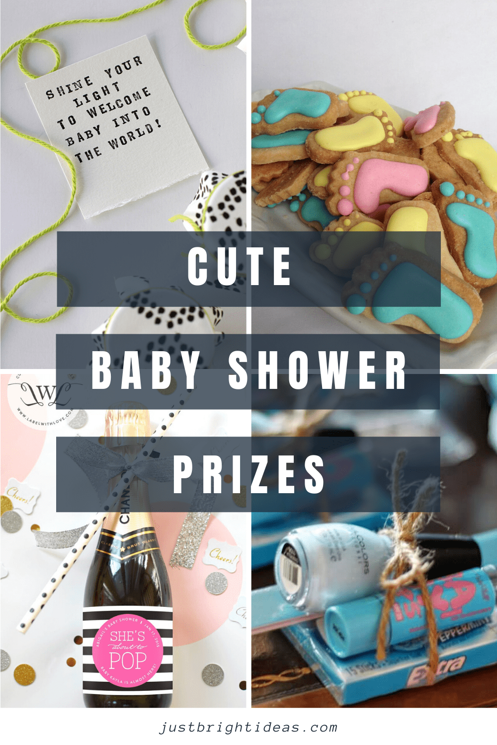 Find out how to make your own cute baby shower prizes your guests will want to use