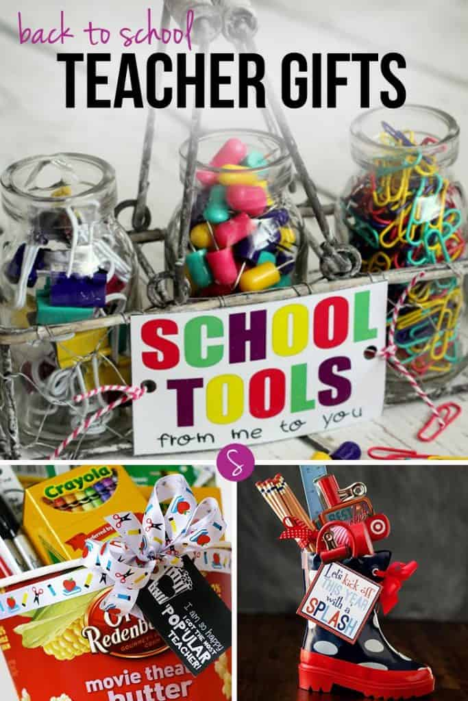 Not long now until the kids go back to school but there is still time to organise a gift for your child's teacher. Whether you want to be creative and make something from scratch, or just buy something from the store and add a funky gift tag you should find something in this collection of DIY Back to School Teacher Gifts to inspire you!
