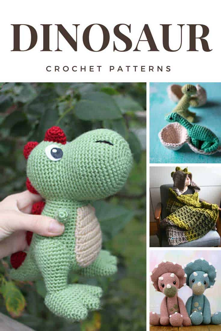 Cute Dinosaur Crochet Patterns