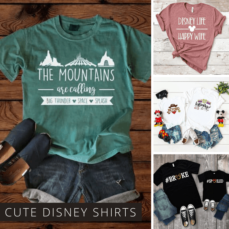 This might just be the ultimate collection of Disney Shirt Ideas you can buy or DIY. We have matching family shirts, Star Wars designs and cute shirts for Christmas vacations too!