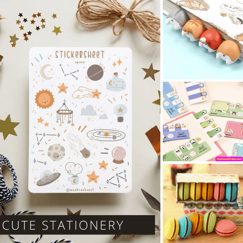 If you're looking for gift ideas for a bullet journaler you can't go wrong with these cute stationery items