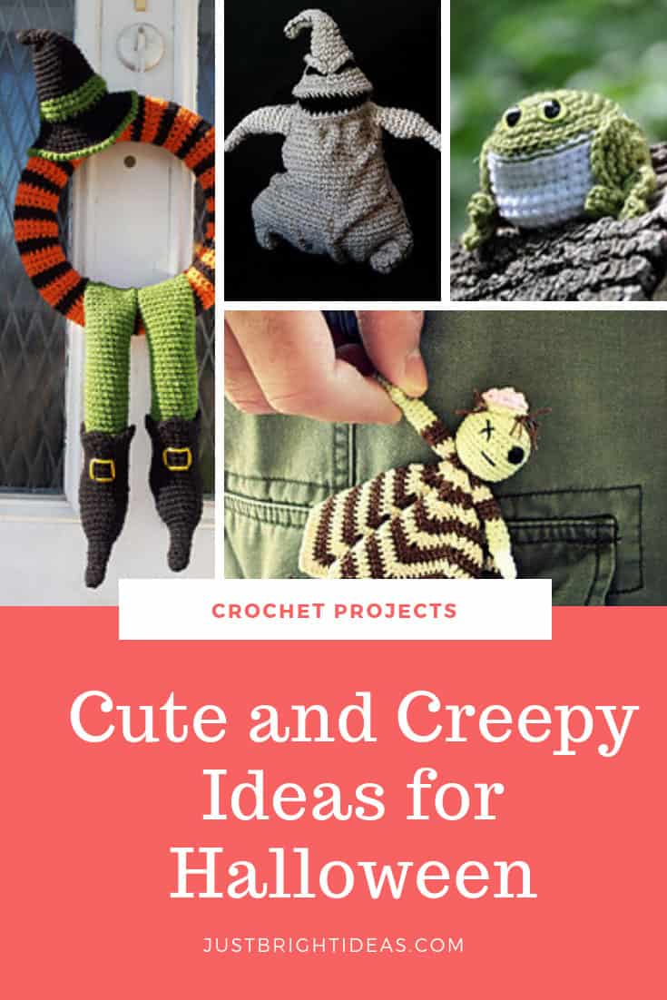 Cute and Creepy Crochet Halloween Projects