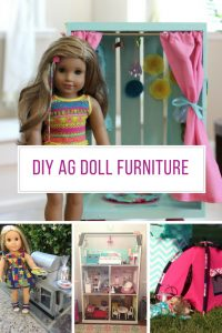 Loving this DIY American Girl doll furniture! Thanks for sharing!