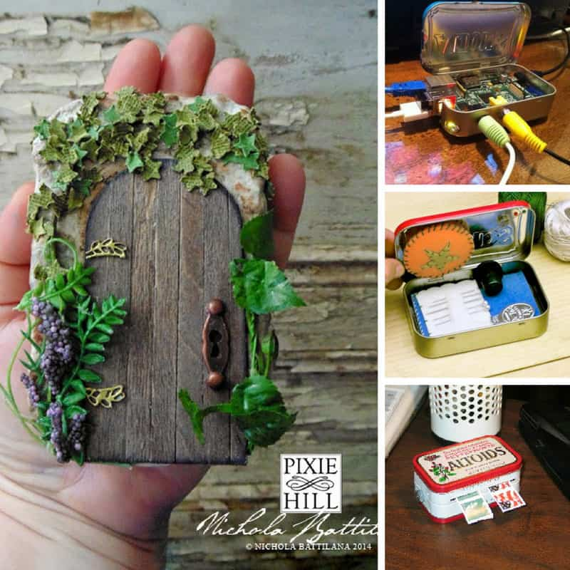 If you're looking for altoid tin projects you're in the right place. We've got everything from computers to fish ponds so you don't want to miss this one!