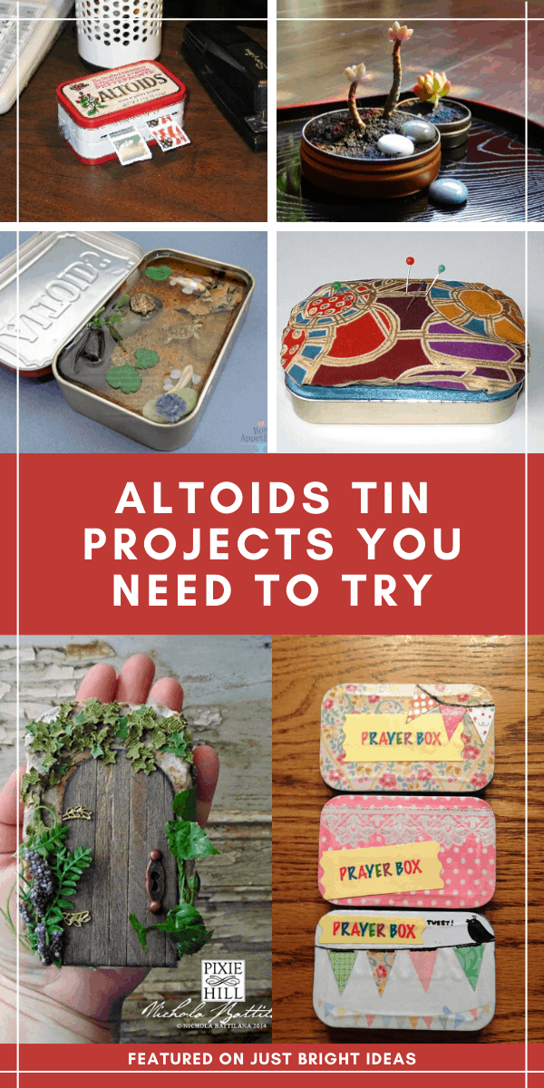 These altoids tin projects are GENIUS and will make unique homemade gifts for Christmas or birthdays!