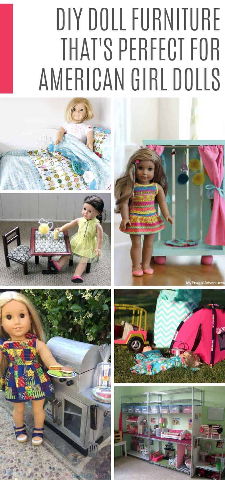 Brilliant 30 Diy American Girl Furniture Projects Thatll Save You A Download Free Architecture Designs Ferenbritishbridgeorg